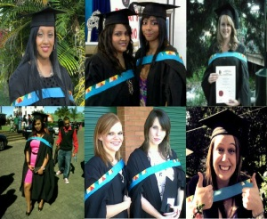 Some friends who graduated ... part of the 61% of female graduates